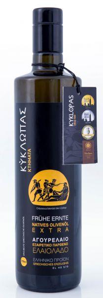 Kyklopas extra natives Olivenöl frühe Ernte