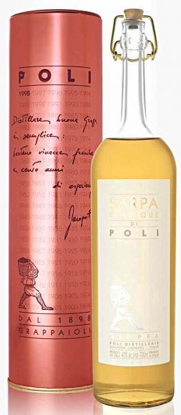 Sarpa Barrique Poli Grappa