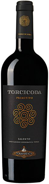 Tormaresca Torcicoda Primitivo Salento IGT Rotwein Italien Apulien